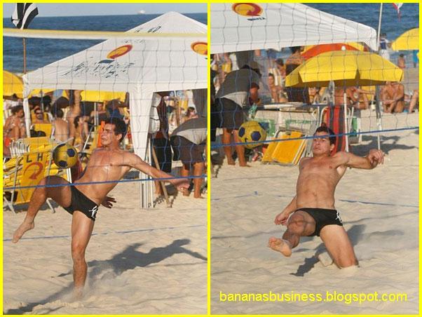 Thiago Martins De Sunga Na Praia
