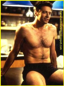 hugh jackman full frontal nude